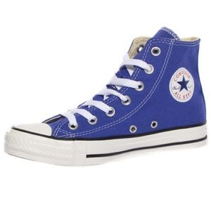 Converse Chuck Taylor High Top Sneaker Blue 10
